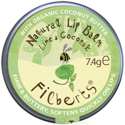 Filberts of Dorset Lime and Coconut Natural Lip Balm