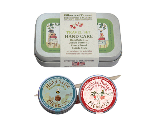 Travel Hand Care Gift Tin