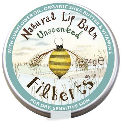 Filberts of Dorset Unscented Natural Lip Balm