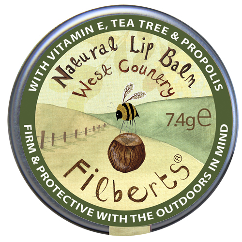 Filberts of Dorset West Country Natural Lip Balm