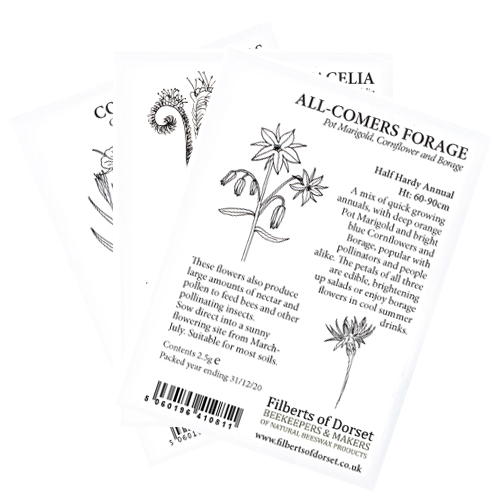 Bee Garden Kit - seed packets