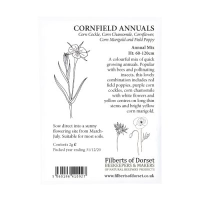 Cornfield Annuals Seed Packet