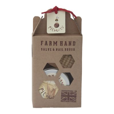 Farm Hand with Nail Brush Gift Box