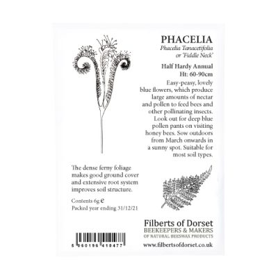 Phacelia Seed Packet