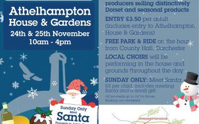 Athelhampton House Christmas Fair