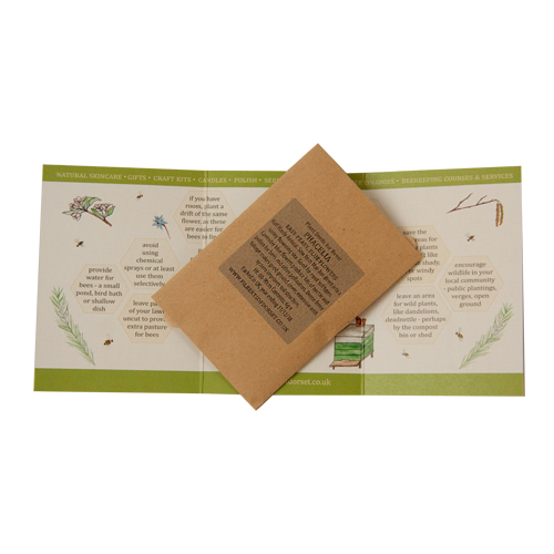 Bee Garden Kit contents