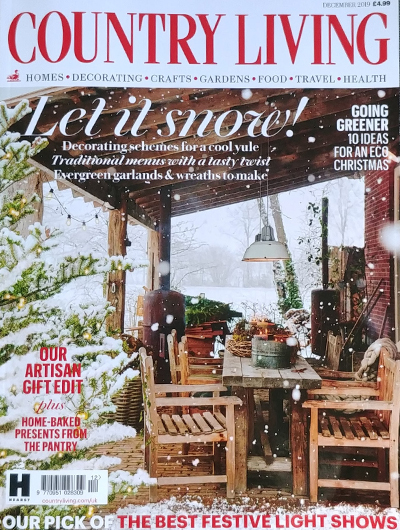 Country Living Magazine Cover ~Dec 2019